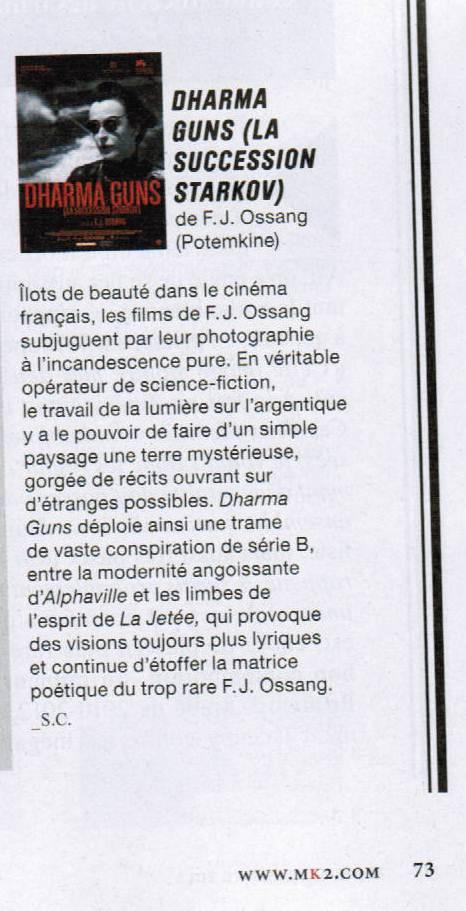 3 Couleurs, magazine MK2